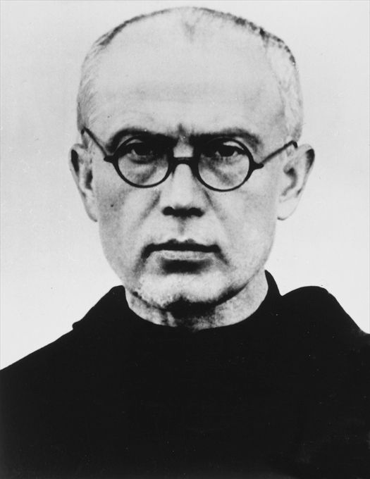 Photo of Father Maximillian Kolbe.