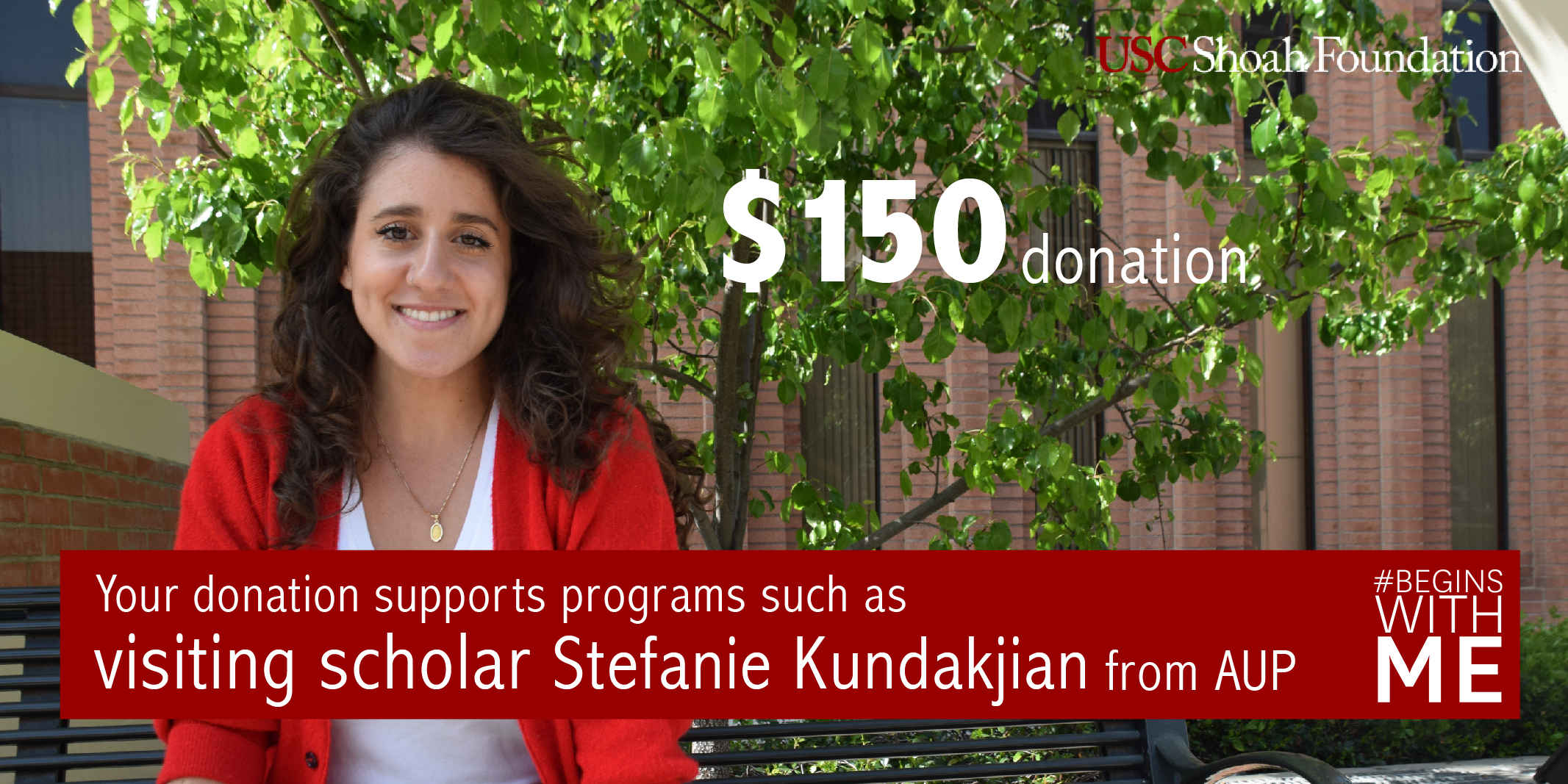 Your $150 donation can help fund our Visiting Scholar Program