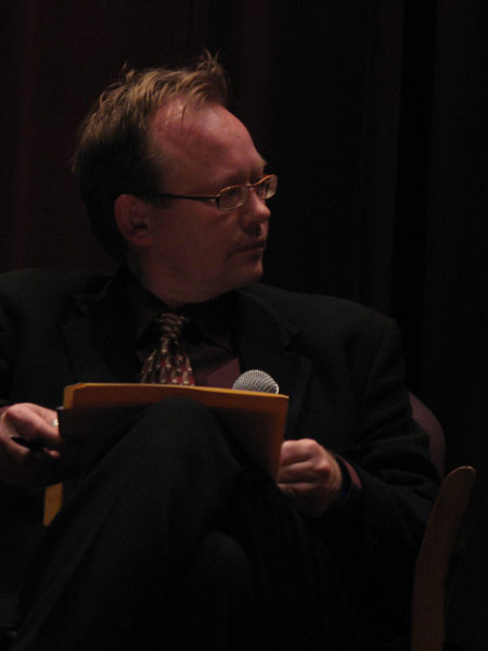 Shapell-Guerin Chair in Jewish Studies and USC History Professor, Wolf Gruner, moderated the discussion panel that followed the film screening.