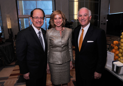 C.L. Max Nikias, USC President; Niki Nikias; and Steven A. Cozen, Event Co-Chair