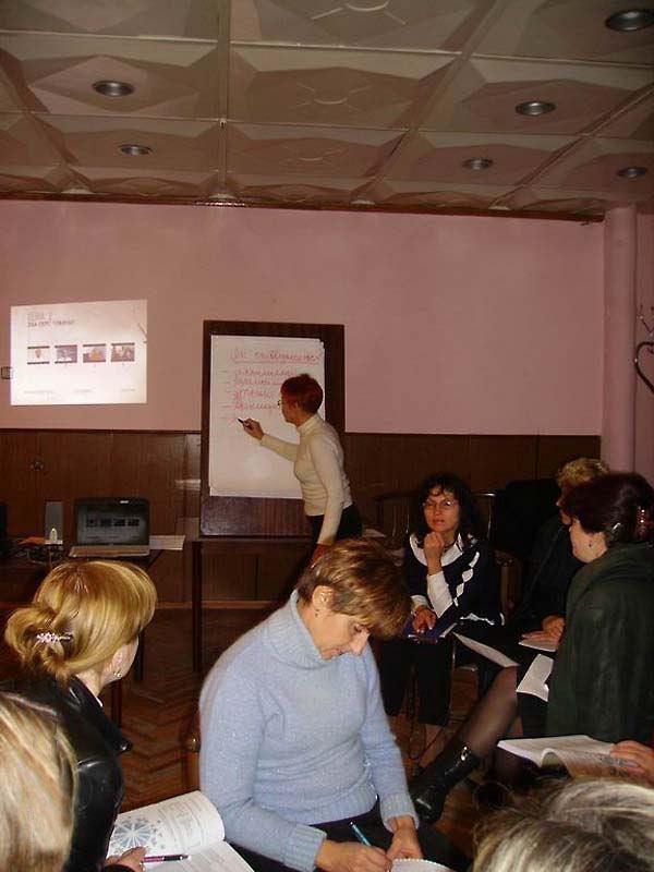 Encountering Memory training seminar in Kharkiv, October 2007