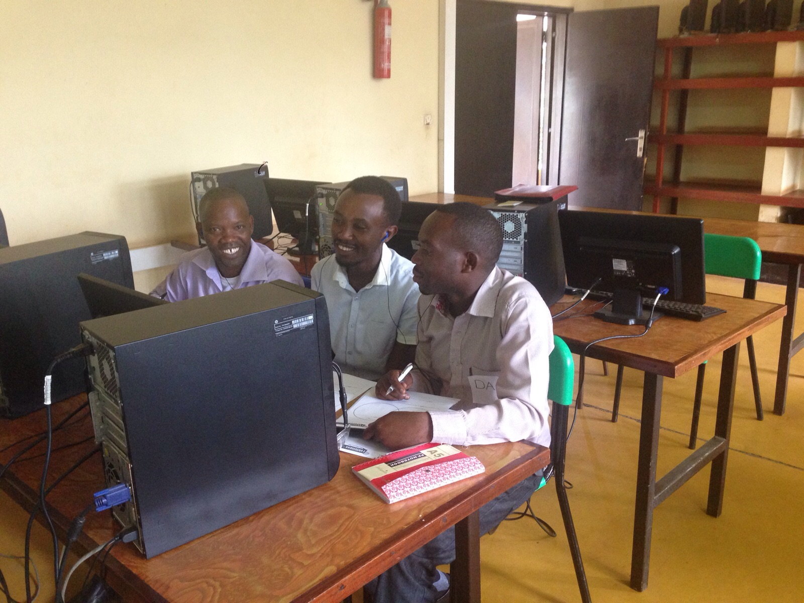 """Advanced Use of Multimedia in Peace Education,"" Kigali, Nov. 2015"