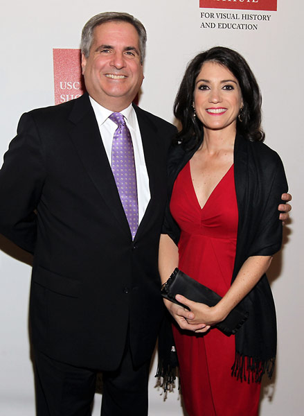 Jerry Papazian and Carla Garapedian, members of the Board of the Armenian Film Foundation.