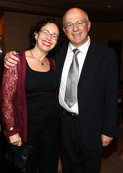 Dana and Yossie Hollander, a member of the USC Shoah Foundation Board of Councilors.