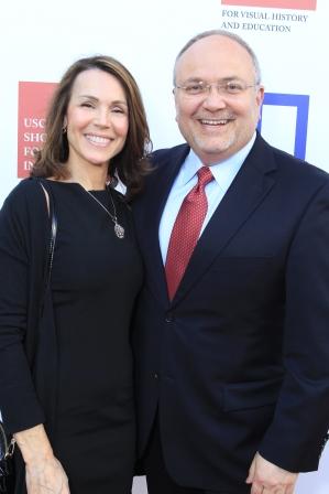 Barbara Rasulo; and Jay Rasulo, Senior Executive Vice President and Chief Financial Officer of The Walt Disney Company.