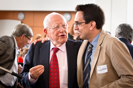 Branko Lustig (left), and Noah Shenker.