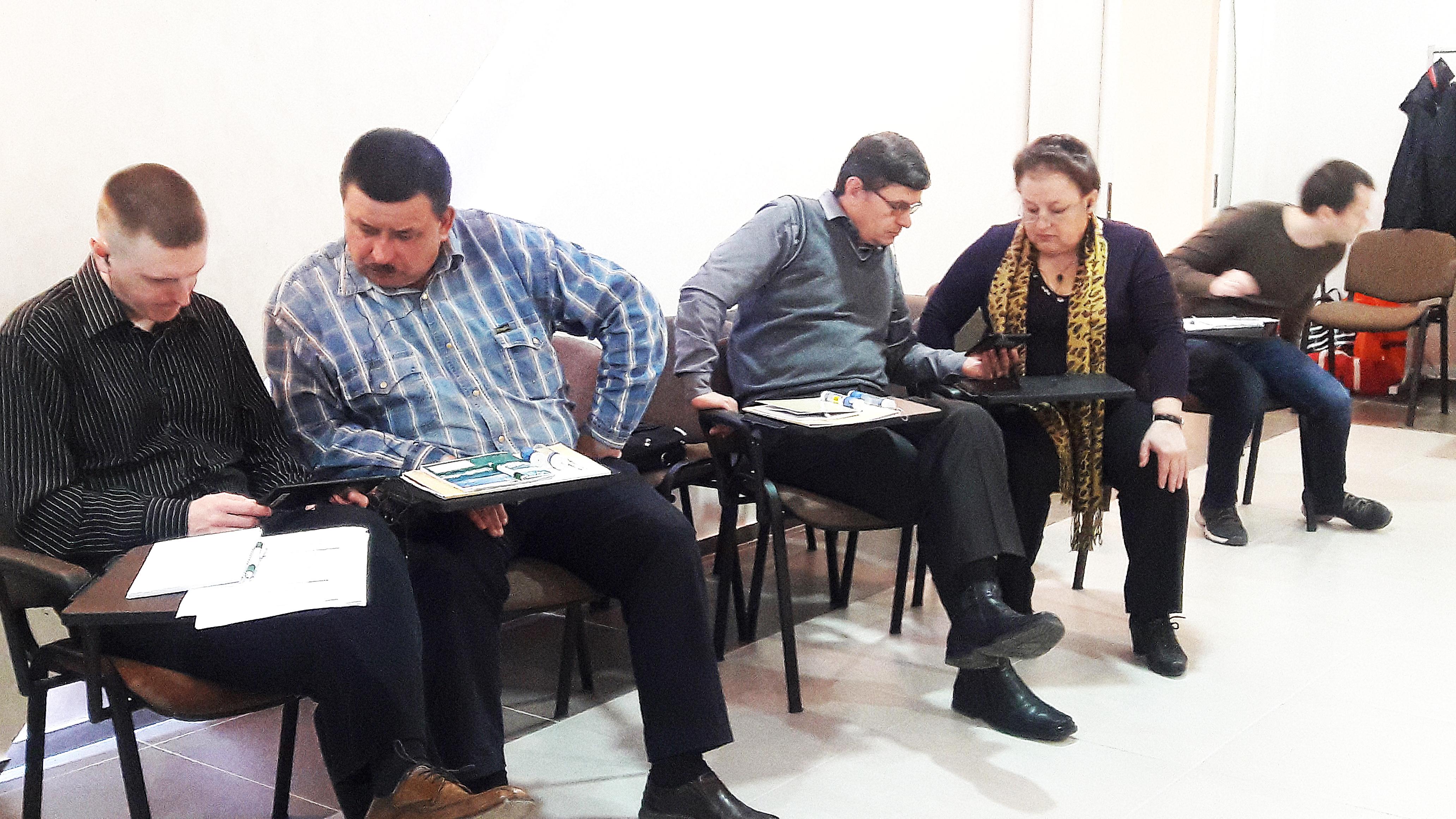IWitness Seminar in Vinnitsa, Ukraine April 2017