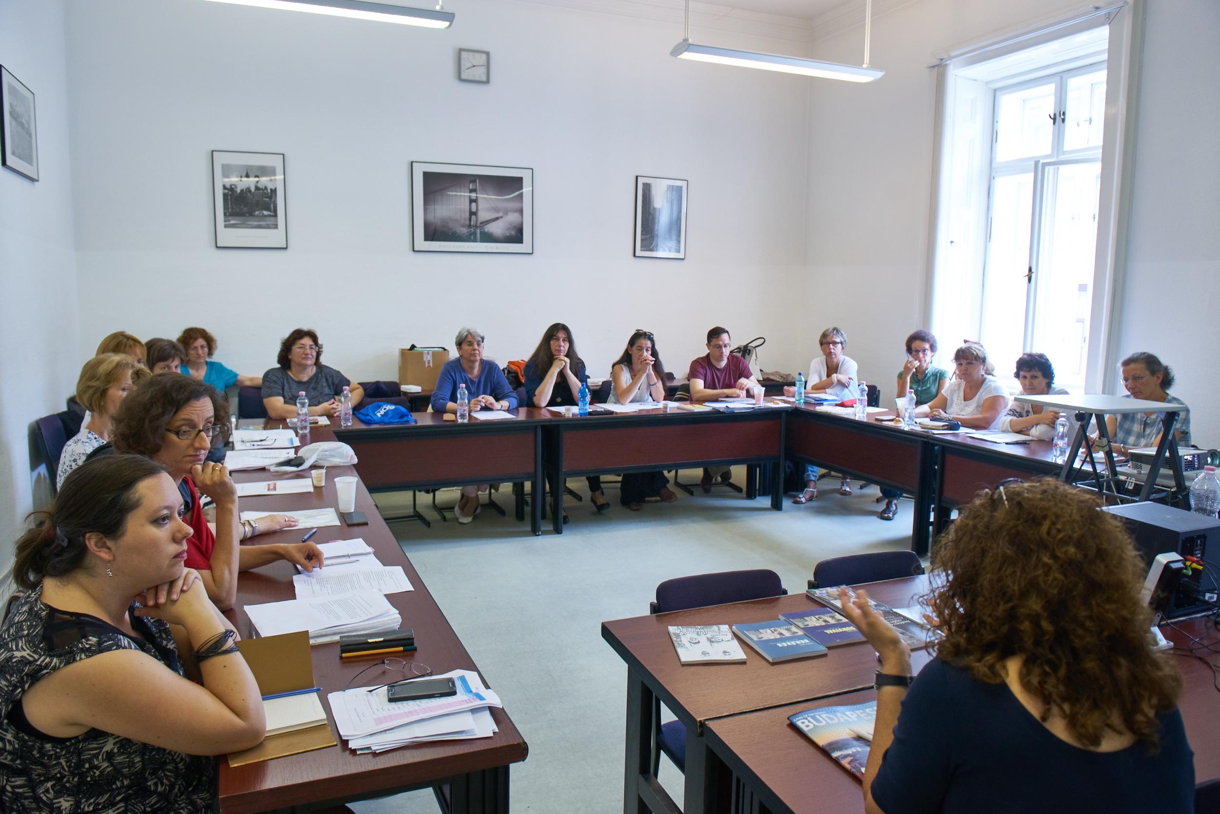 Master Teacher Hungary 2016 Follow Up, July 2017