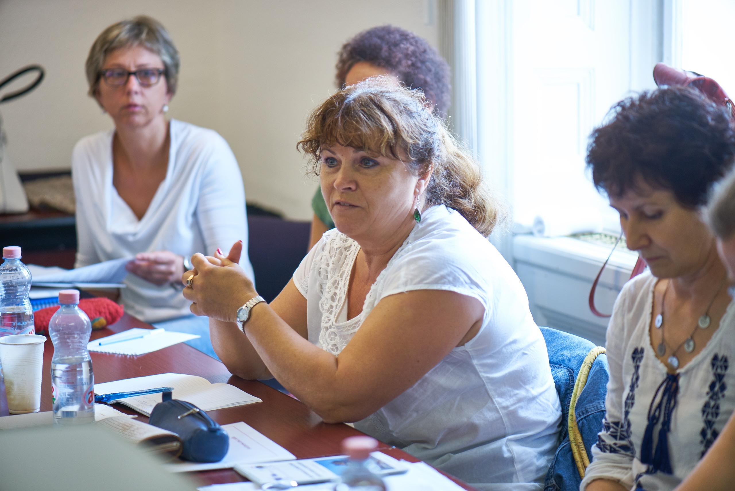 Valeria Ilkeine Kupai - middle school teacher of History and Ethics (Budapest)