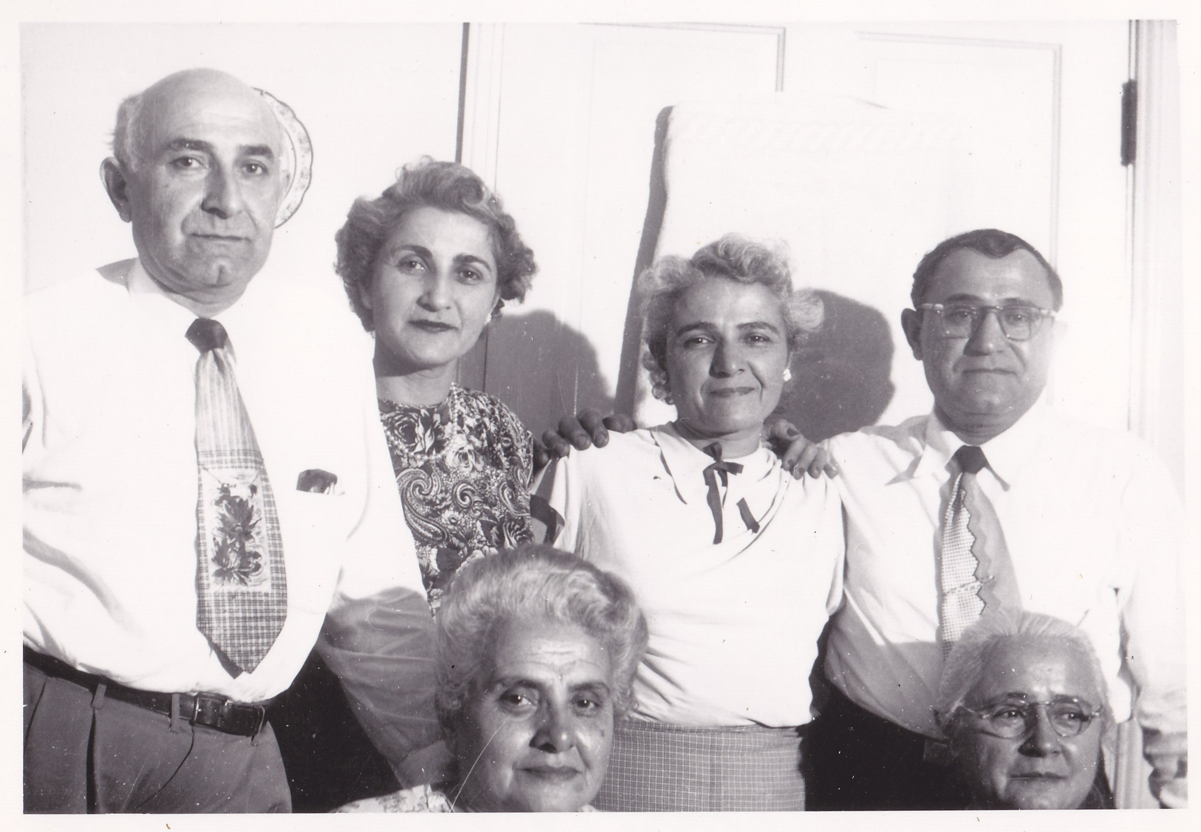 Muggerditchian siblings in 1950