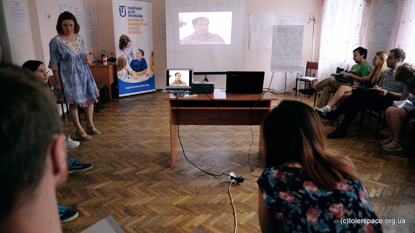 Teach for Ukraine IWitness Workshop, July 2017