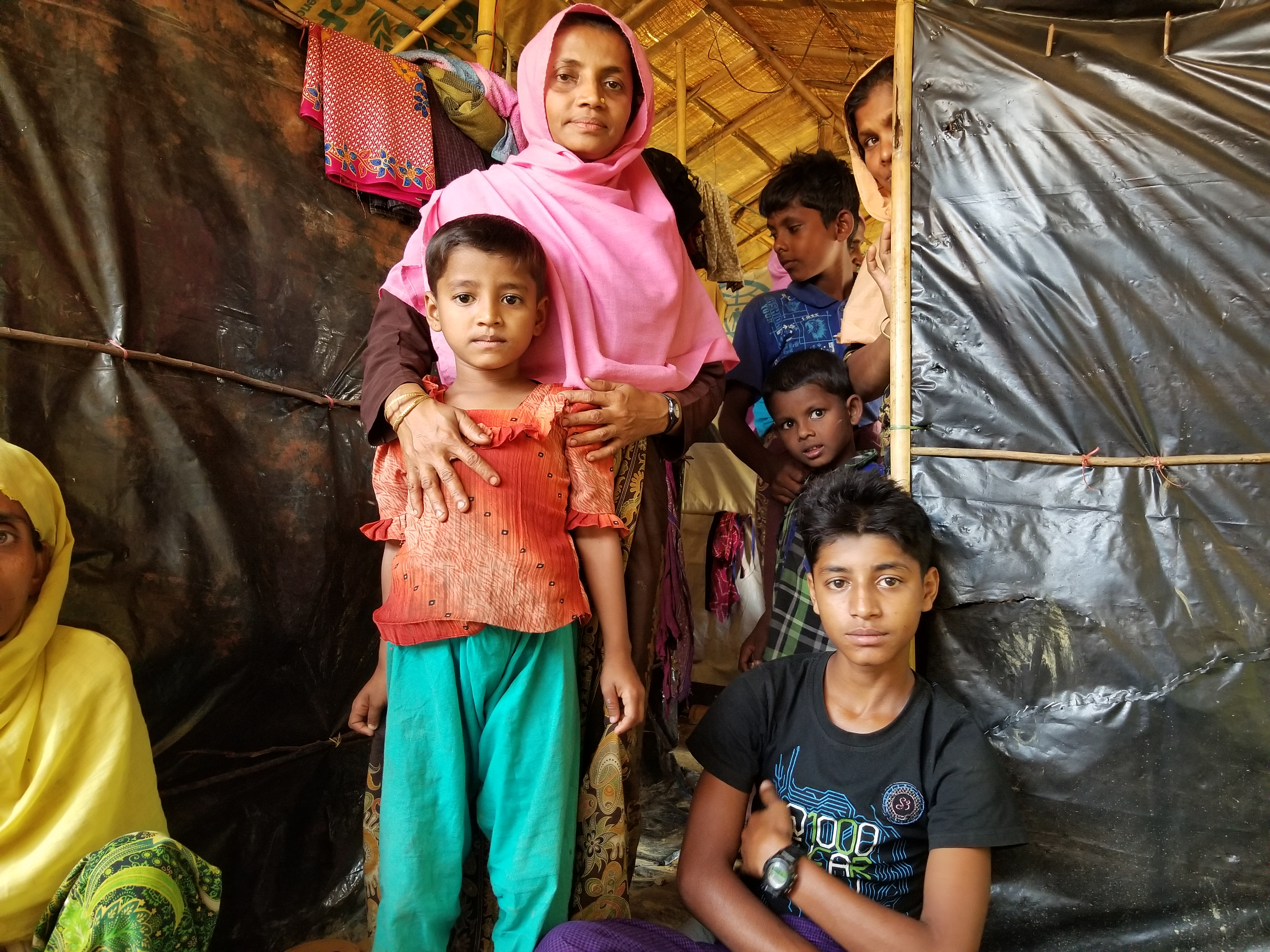Rohingya Interviews at Kutupalong Refugee Camp, Bangladesh, Nov. 2017