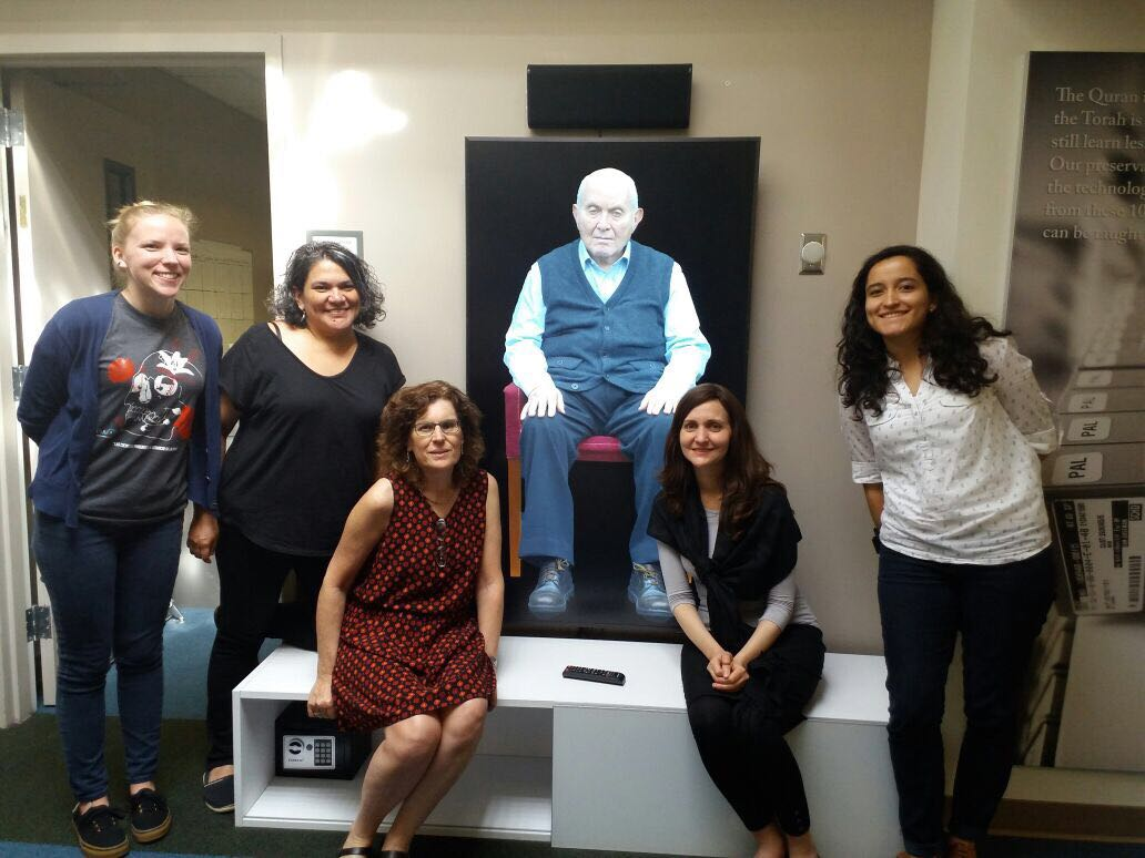 During the visit, the group experienced New Dimensions in Testimony