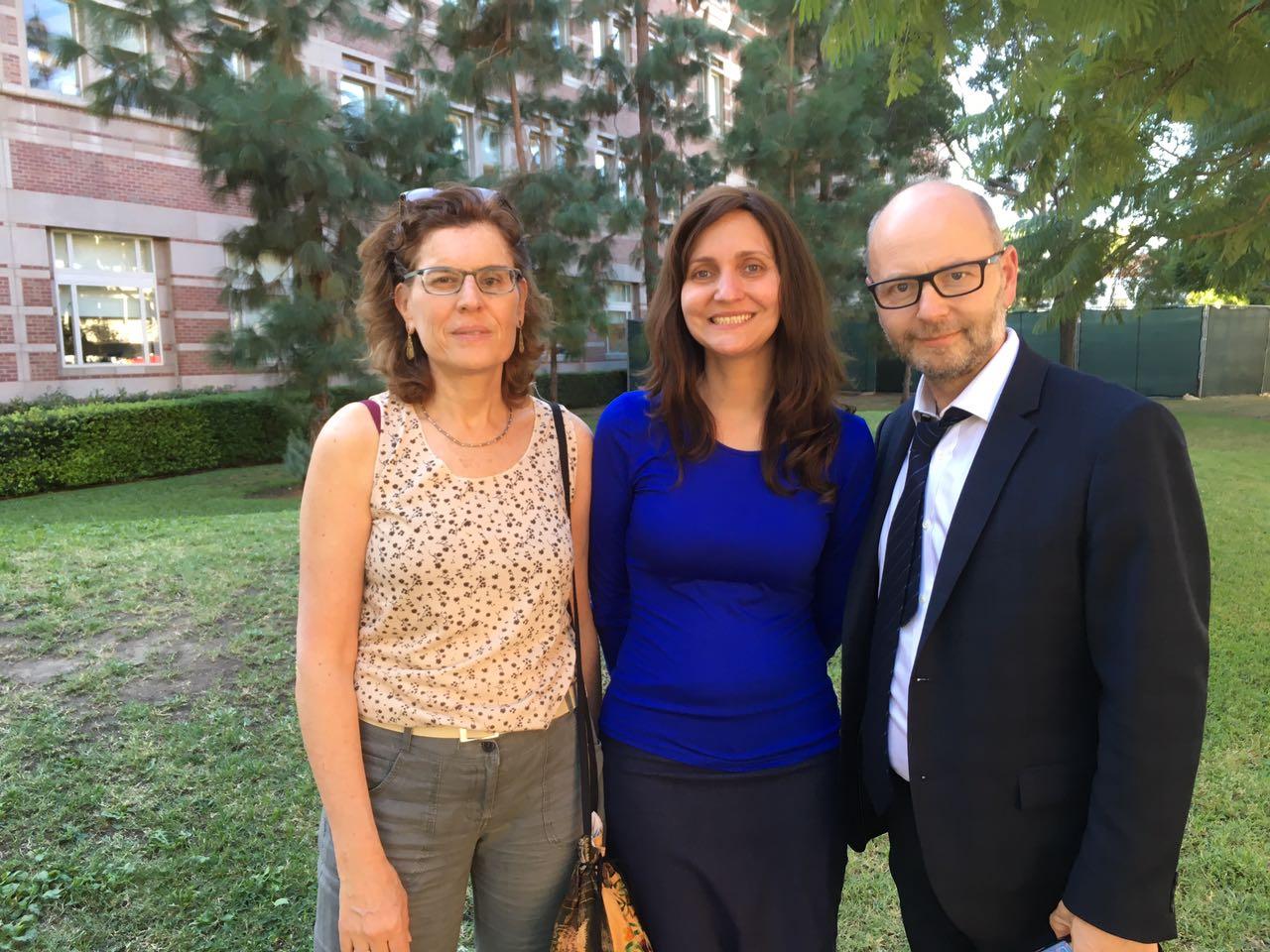 Deby Roitman, Michelle Reich and Stephen Smith