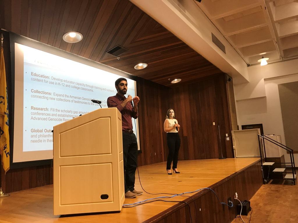 Glendale Public Library Armenian Presentation, Oct. 26, 2017
