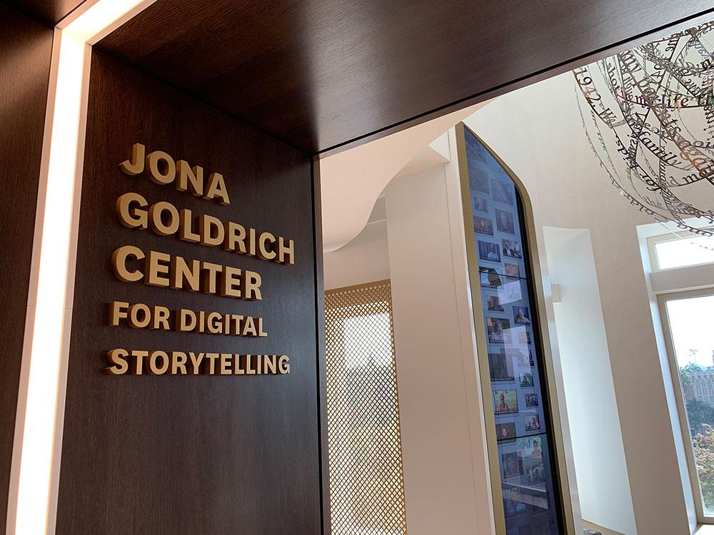 The Jona Goldrich Center for Digital Storytelling