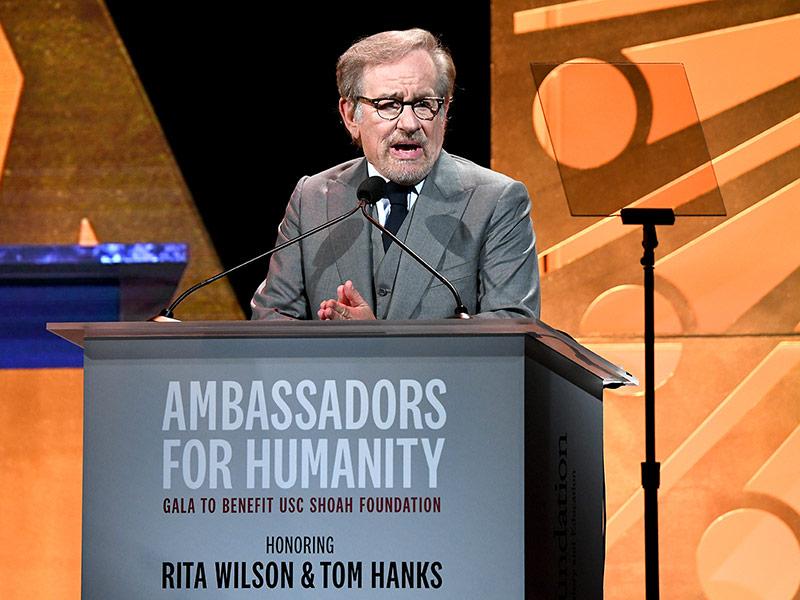 USC Shoah Foundation Founder Steven Spielberg
