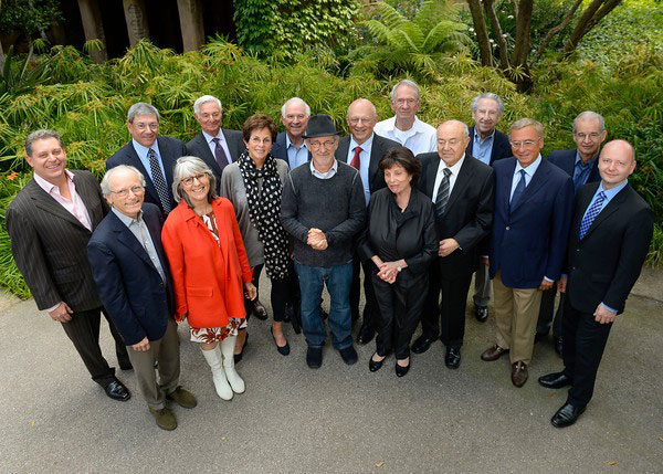 Our board of councilors with founder Steven Spielberg