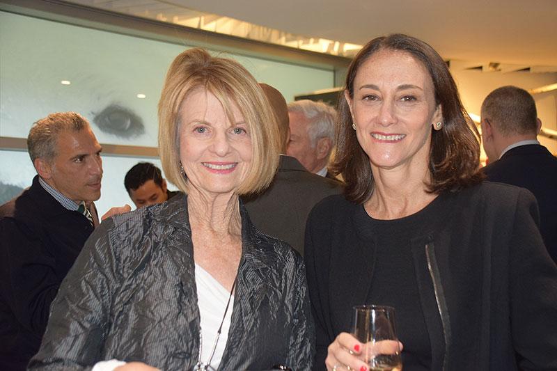 Councilors Phyllis Epstein and Lori Fife