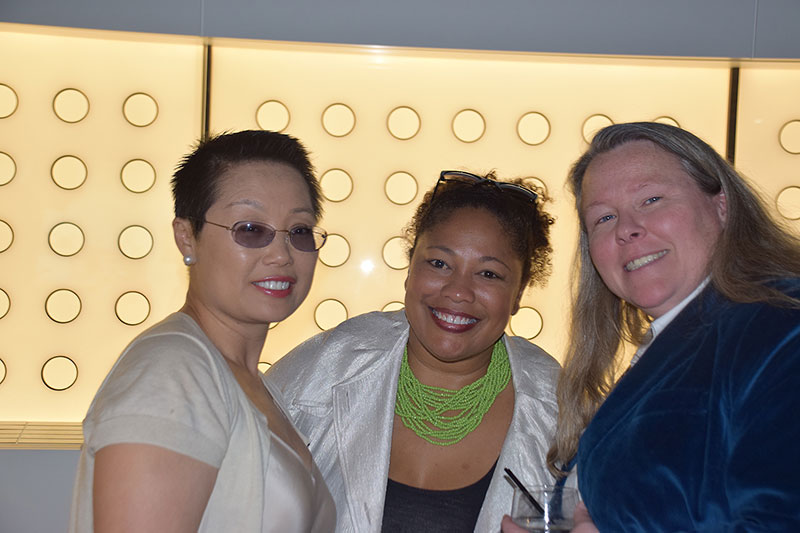 Councilors Cecilia Chan and Karla Ballard Williams with Senior Director of Programs and Operations Kori Street