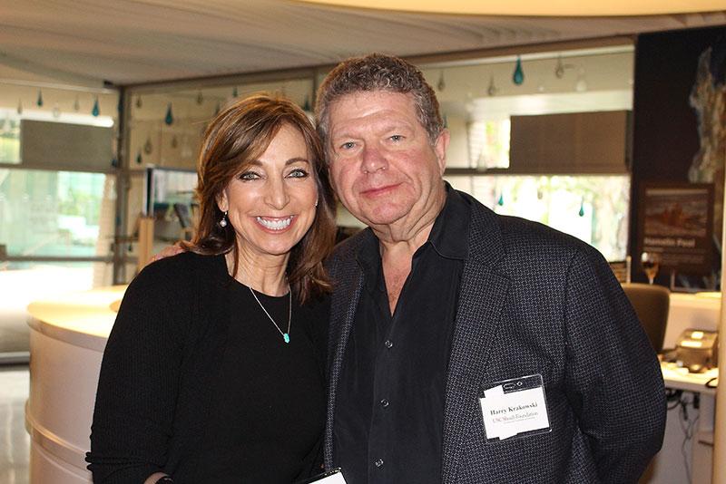 Councilors Marcy Gringlas and Harry Krakowski
