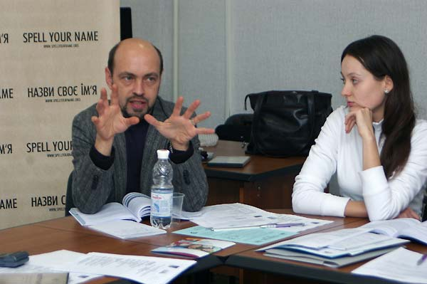 Encountering Memory training seminar in Kyiv, November 2007