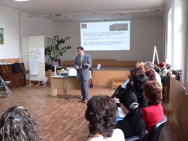 Encountering Memory training seminar in Uzhorod, April 2008