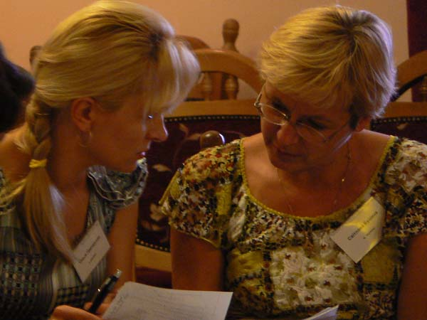 Encountering Memory Train-the-trainer seminar in Mukachevo, August 2008