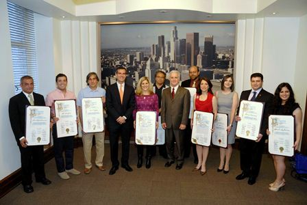 The Institute and the Armenian Film Foundation were honored along with nine Armenian-American community activists.