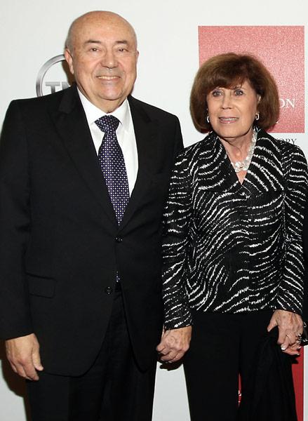 Andrew Viterbi and Lillian Scharlin.
