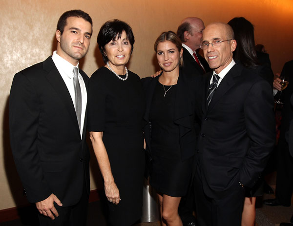 David, Marilyn, Laura, and Jeffrey Katzenberg.