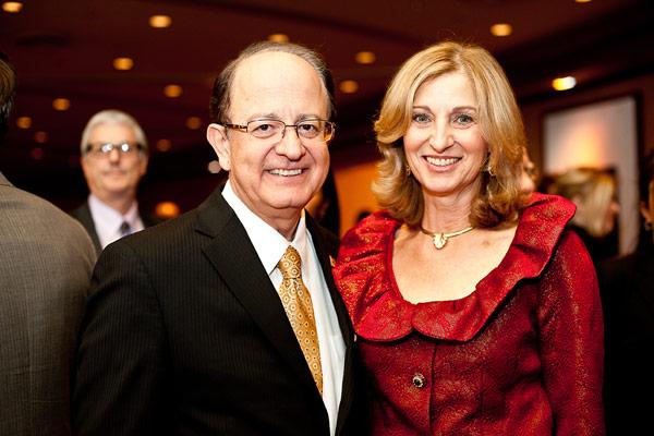 USC President L. Max Nikias with his wife, First Lady Niki Nikias.