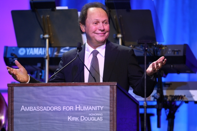 Billy Crystal hosted the event.