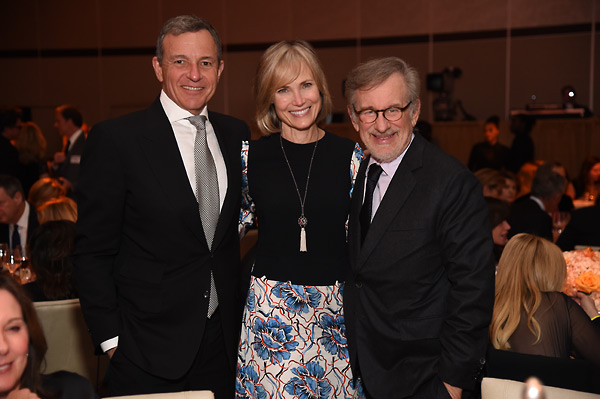 Robert Iger, Willow Bay and Steven Spielberg