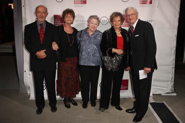From left:  Jerry and Natalie Nankin, Anita Hirsch, Rhoda Howard, and Robert Hirsch.