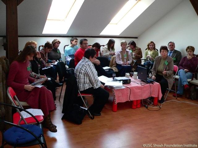Bratislava training seminar participants, November 2008.