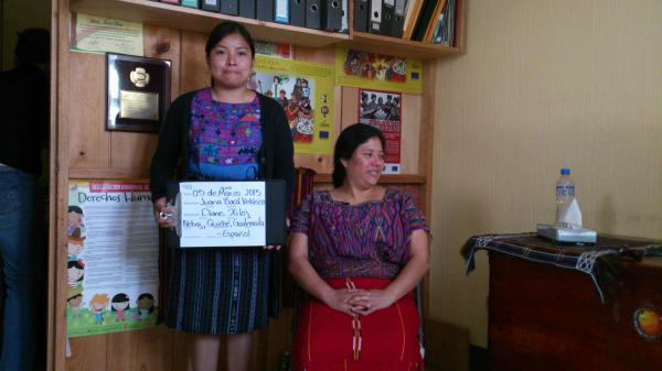 FAFG and USC Shoah Foundation record first testimonies in Guatemala