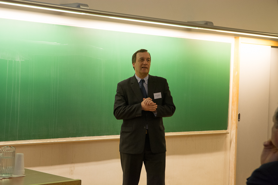 Prof. Jan Hajič of the Institute of Formal and Applied Linguistics
