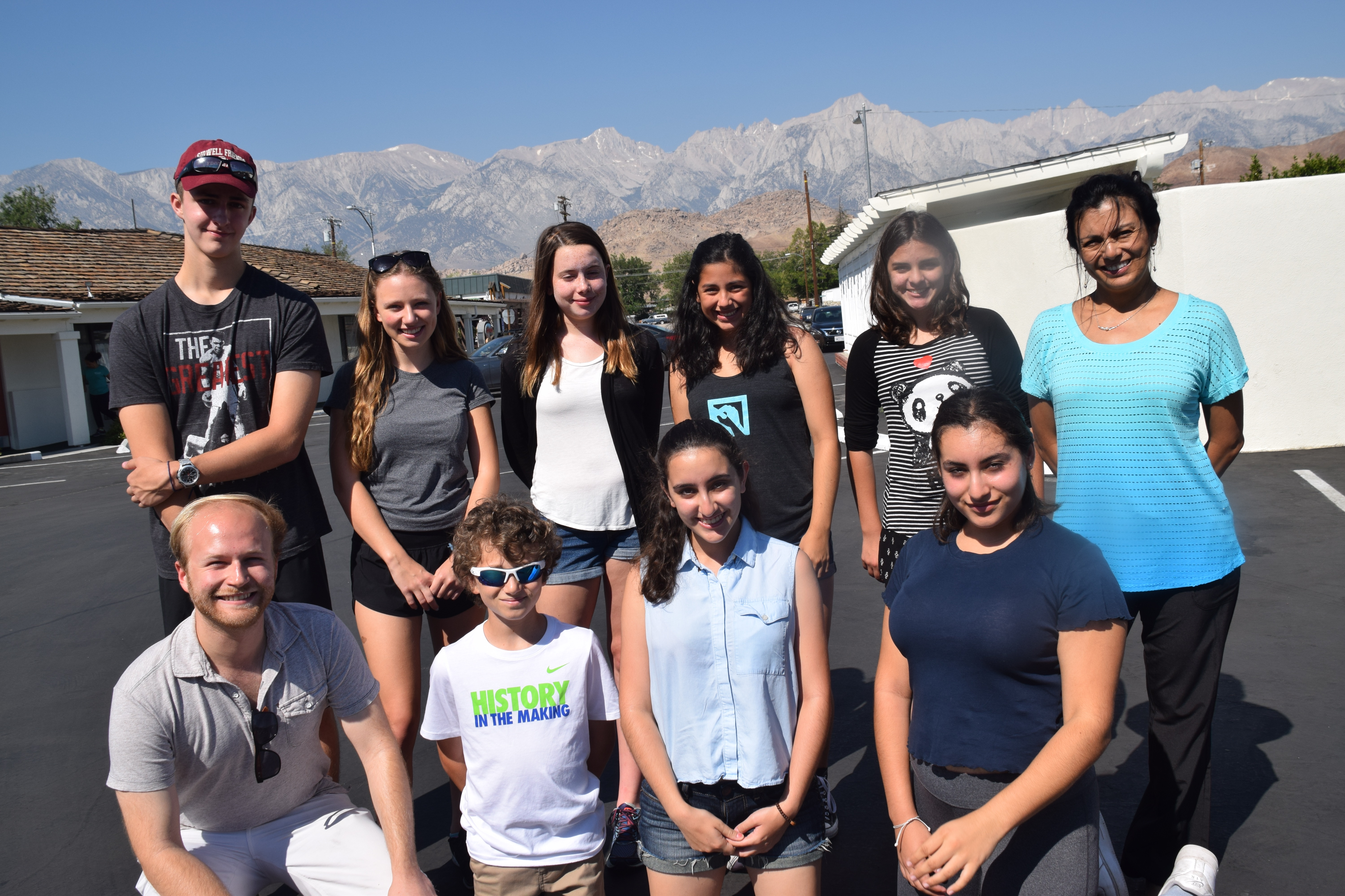 Junior Intern Trip to Manzanar, June 2016