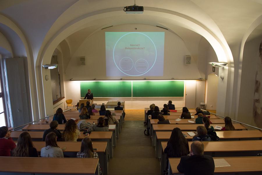 lecture of PhDr. Hana Kubátová, PhD