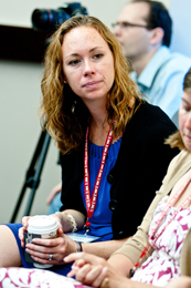 Mindy Davis, an educator from San Diego, California.