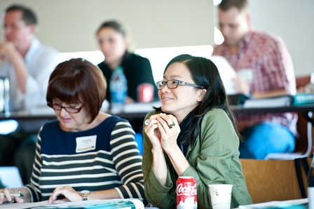 Nearly 50 Southern California educators attended the workshop.