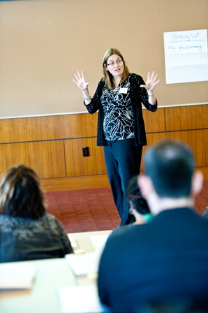 Sheila Hansen, Senior Trainer and Content Specialist at the Institute, presents a session titled