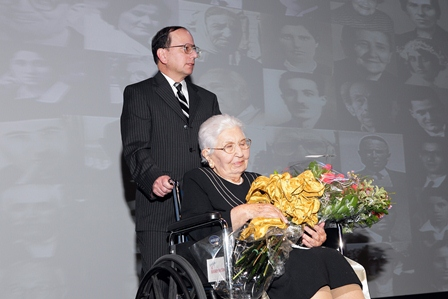 Rose Garjian, a survivor of the Armenian Genocide.