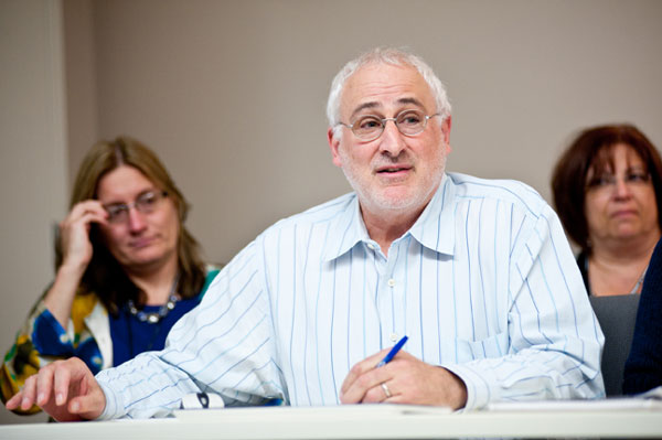 Hank Koransky, an educator at the Brentwood School (Los Angeles, California), and graduate of the 2010 Master Teacher Workshop.
