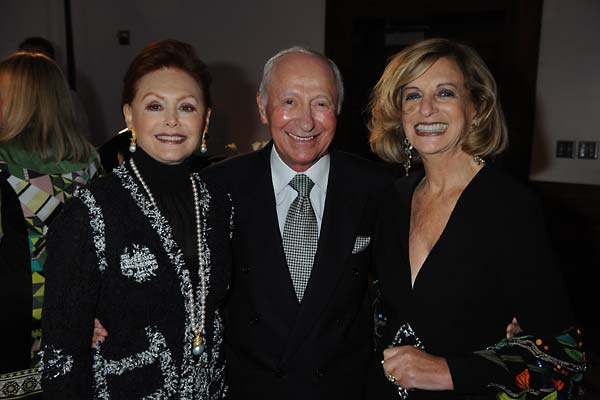 From left:  Cyndey and Bill Osterman, and Helene Galen.