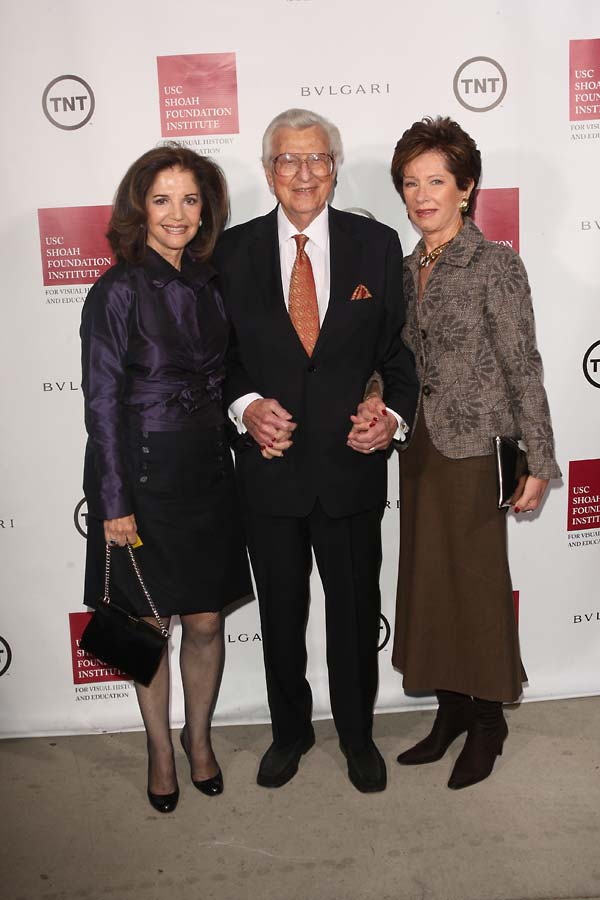 From left:  Bobbi and Marvin Holland, and Gloria Lushing.