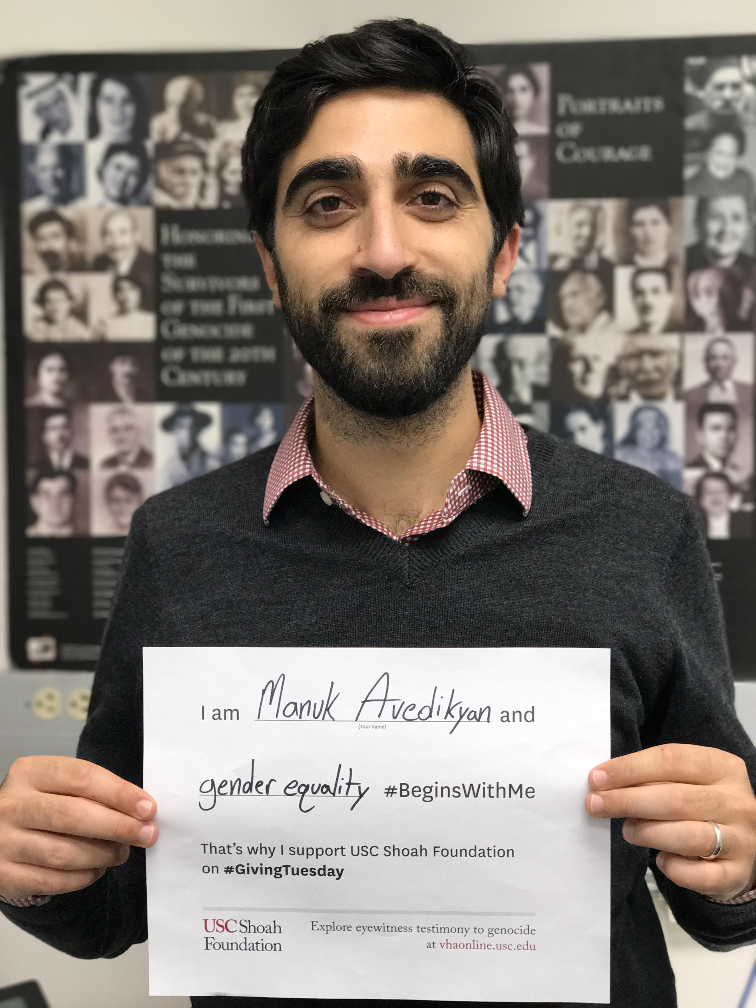 Manuk Avedikyan - Gender Equality #BeginsWithMe