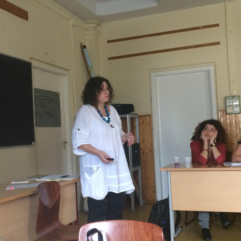 Aletta Firas-Brio talks about teaching with testimony at iTeach