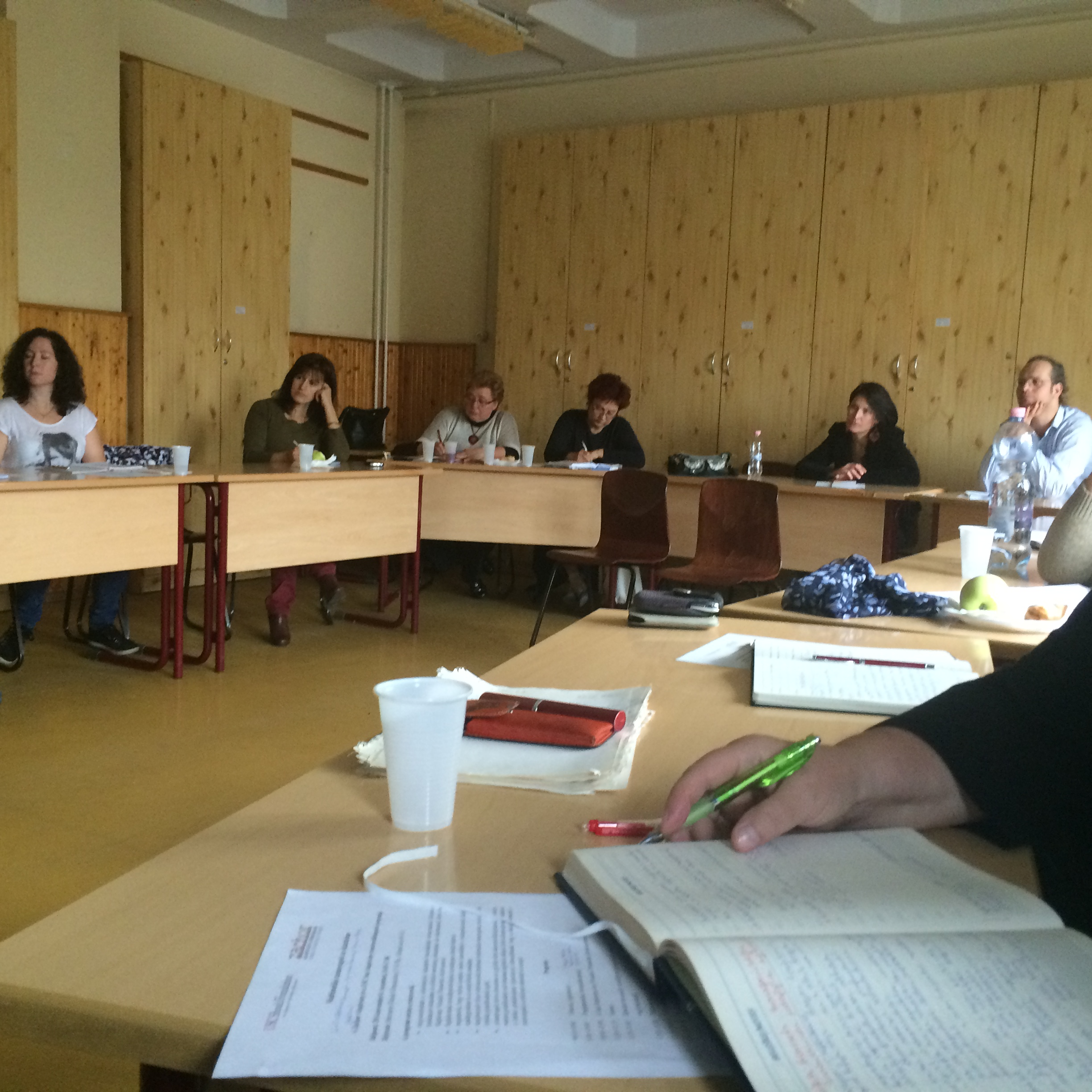 Educators from Hungary and Romania learn about teaching with testimony